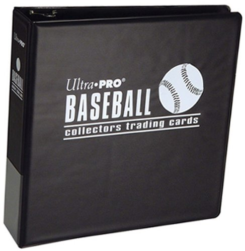 Ultra Pro 3-Inch Baseball Album,Black