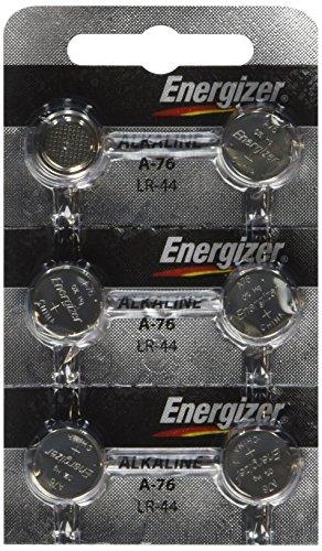Strip-of-6-Energizer-A76LR44-A76BP-SR44-L1154-15v-Alkaline-Batteries