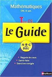 Mathématiques Tle ES : Le Guide