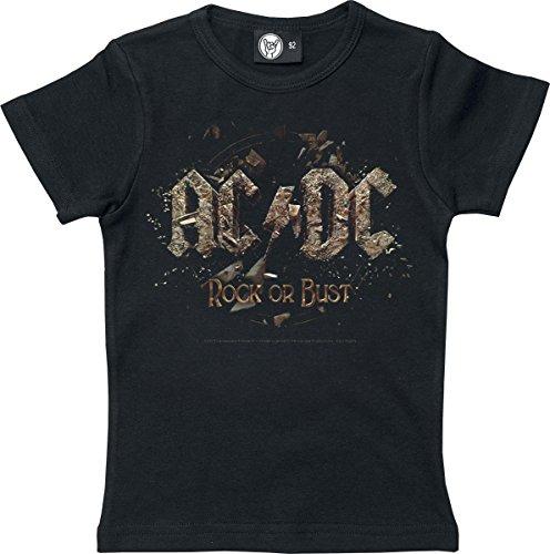 AC/DC Rock Or Bust Maglia bimbo/a nero 140