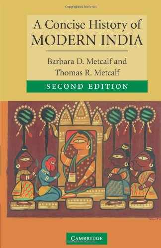 A Concise History of Modern India (Cambridge Concise...