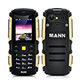 Dual SIM Rugged Waterproof, Dustproof, Shockproof Mobile, Cell Phone, Bluetooth - Battery Size: 2570mAh, Continuous...