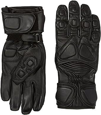 Protectwear WSG-103-SW-M Motorradhandschuh aus Leder, Größe M, Schwarz