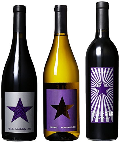 """Purple Star """"For The Kids"""" (Benefits Seattle Children's Hospital) 2nd Edition Mixed Pack, 3 x 750 mL image"""