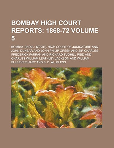 Bombay High Court Reports Volume 5