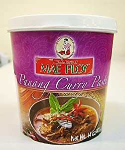 Thai Panang curry paste (400g by Mae Ploy): Amazon.co.uk: Grocery