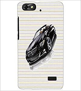 PrintDhaba Car D-6042 Back Case Cover for HUAWEI HONOR 4C (Multi-Coloured)