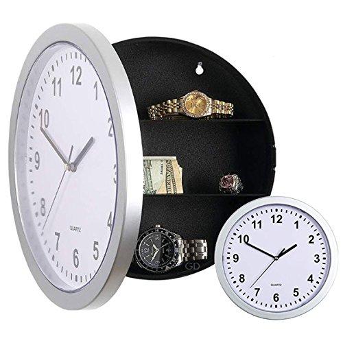 Hidden Safe Security Wall Clock