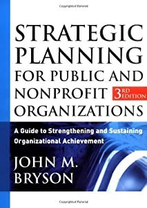 "Cover of ""Strategic Planning for Public a..."