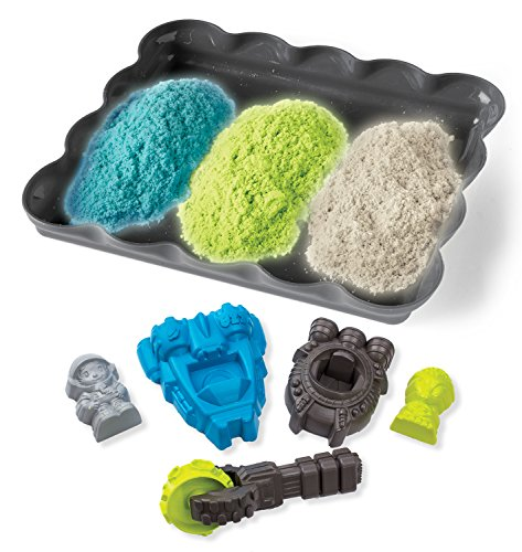 Cra-Z-Art Cra-Z-Sand Glow Sand Space Set Toy - 1