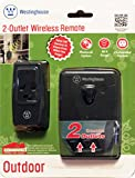 2 Outlet Outdoor Wireless Remote Control