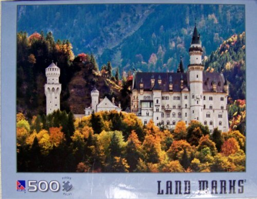 Sure Lox; Land Marks Neuschwanstein Castle 500 Piece Jigsaw Puzzle