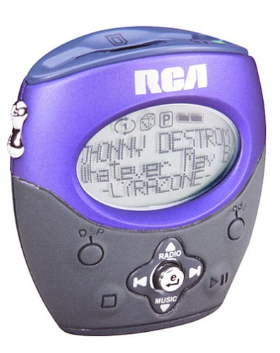 RCA Lyra RD1080 128 MB MP3 Player