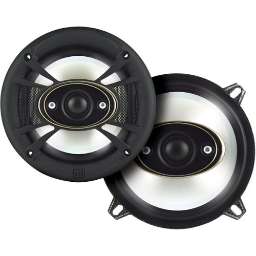 "Dual XNP553 5 1/4"" 3-Way, 135 W, Illuminite, Premium Series"
