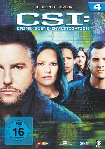 CSI: Crime Scene Investigation - Die komplette Season 4 [6 DVDs]