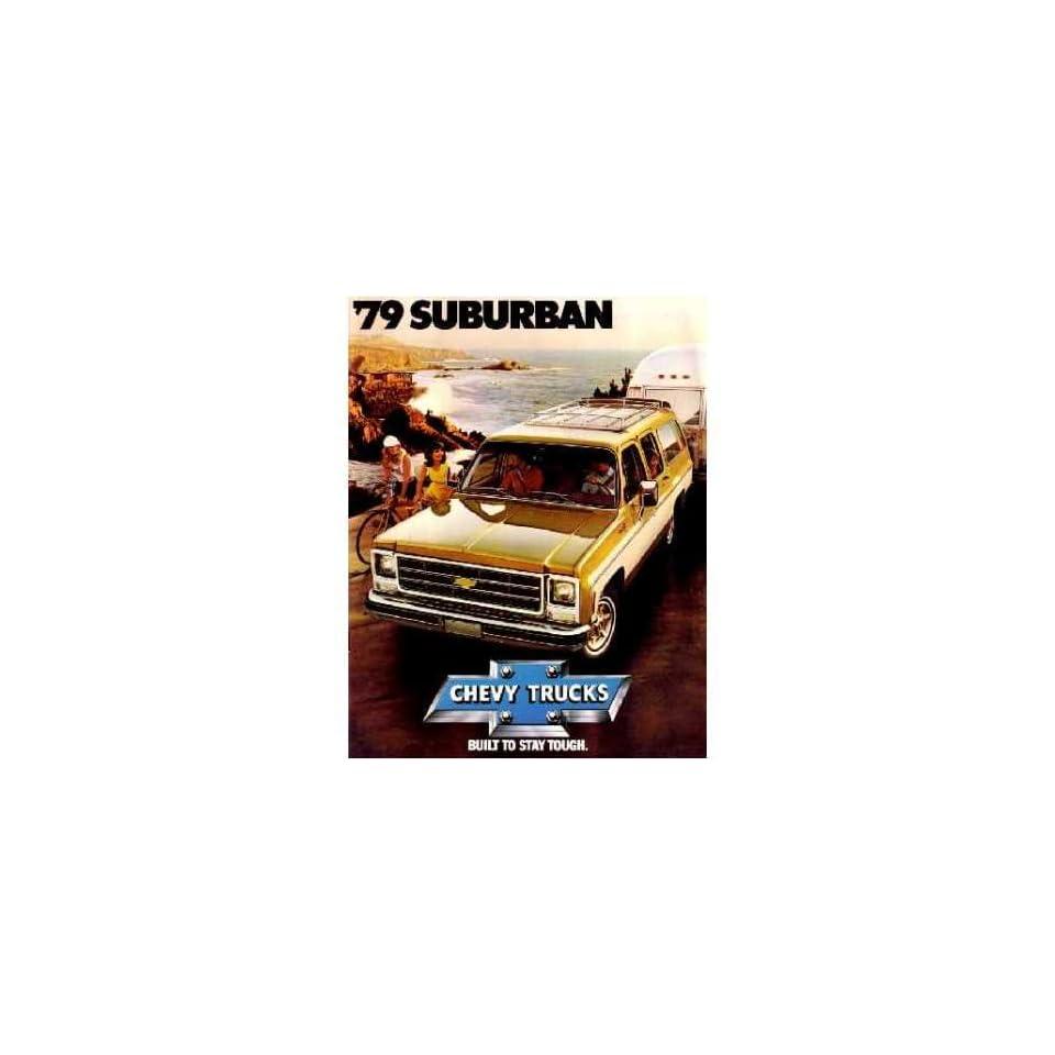 1979 CHEVROLET SUBURBAN Sales Brochure Literature Book