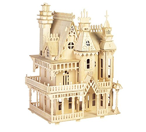ULT-unite SEA-LAND 3-D Wooden Puzzle (Fantasy Villa) (Building Models For Adults compare prices)