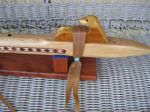 Native American Flute - Master Flute - Deep Low C - Hand Made - Solid Cherry