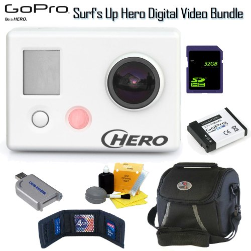 GoPro GOP-CHDSH-001 HD Surf Hero Digital Video Camera Surf's Up Extreme Bundle