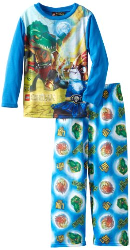 Lego Little Boys' 2 Piece Pajama Set, Blue, 6 front-894346