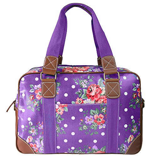 miss-lulu-ladies-owl-butterfly-floral-polka-dot-print-oilcloth-travel-overnight-weekend-school-bag-f