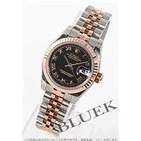 [ロレックス]ROLEX 腕時計 Ref.179171 デイトジャスト RGコンビ ブラック ローマン Ref.179171 R レディース [並行輸入品]