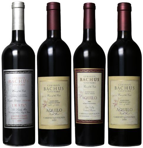 Gershon Bachus Season Greeting Cabernet Sauvignon And Franc Mixed Pack, 4 X 750 Ml