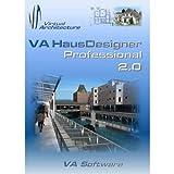 """VA HausDesigner Professional 2.0 3D CAD Hausplaner & Zeichenprogramm - auch nutzbar als Einrichtungsplaner, Raumplaner, Badplaner, Gartenplaner & K�chenplanervon """"VA Software"""""""