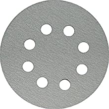 Makita 742137-A-50 5-Inch 40-Grit Hook and Loop Abrasive Disc, 50-Pack