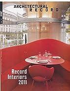 Architectural Record, October 2011. Vol.…