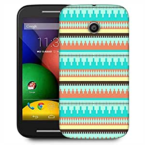 Snoogg Aztec Pattern Temple Designer Protective Phone Back Case Cover For Motorola E2 / MOTO E22