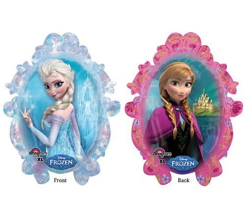 "Disney Frozen Anna Elsa 38"" Balloon Birthday Party Decoration Princess (5)"