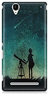 Sony Xperia T2 UltraBack Cover by Vcrome,Premium Quality Designer Printed Lightweight Slim Fit Matte Finish Hard Case Back Cover for Sony Xperia T2 Ultra