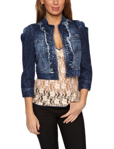 Miss Sixty Anouk Women's Jacket Blue Denim Small