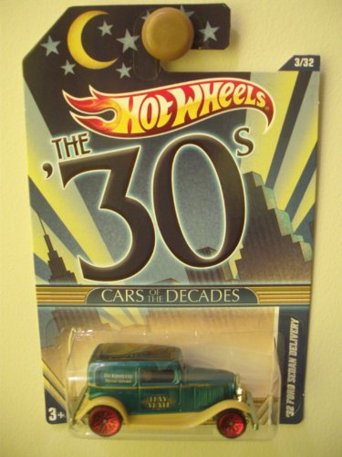 "2011 Hot Wheels CARS OF THE DECADES 30s ""32 Ford Sedan Delivery"" (Collectible) (Toy) (Diecast)"
