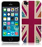 STYLEaphone® GLOSS FINISH MULTI-COLOURED PATCHWORK UNION JACK TPU GEL CASE COVER SKIN PROTECTOR FOR IPHONE 5 5S