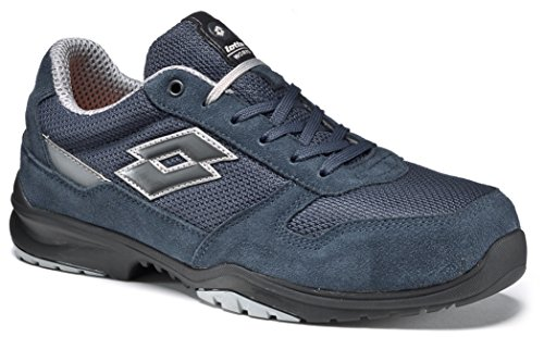 Chaussures de securit' Lotto Works FLEX EVO S1P SRC HRO Bleu Memory Foam-771198
