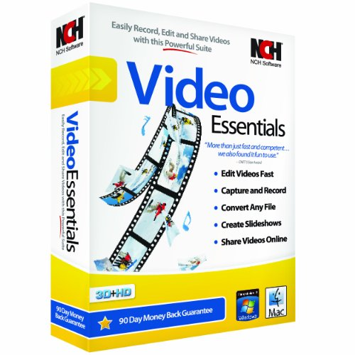 NCH Software Video Essentials (Video Software For Mac compare prices)