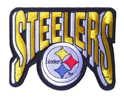 Pittsburgh Steelers NFL Embroidered Patch [ 5 X 4 Inches] at Amazon.com