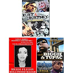 Kurt & Courtney / Heidi Fleiss / Biggie & Tupac - 3 DVD Collection (Amazon.com Exclusive)