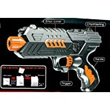 2 In 1 Toy Gun Pistol Shoot Water Jelly Balls Shooting Game Soft Water Absorbing Bullets