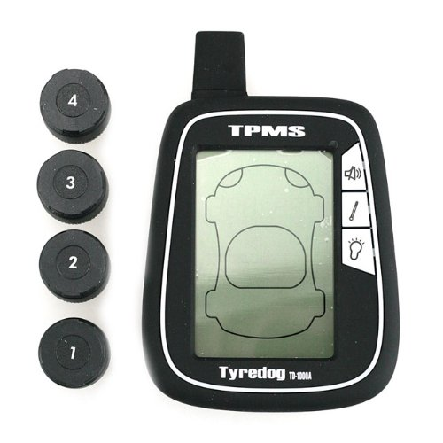 *New* Tyredog TD-1000A-X-04 Tyre Pressure Monitoring Moitor System *TPMS*
