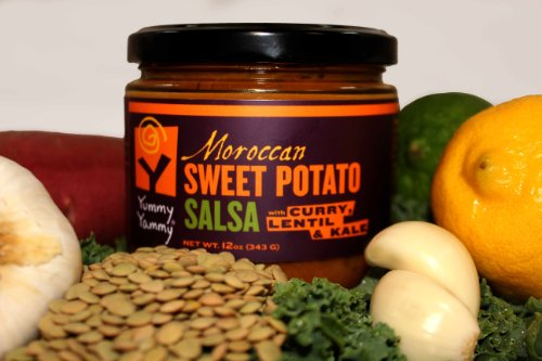 Yummy Yammy Sweet Potato Salsa, Moroccan with Roasted ...