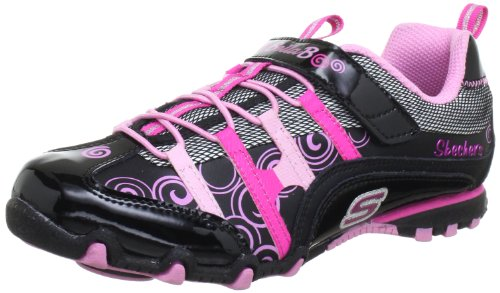 Skechers Bella BallerinaSpin Rider Trainers Girls black Schwarz (BKPK) Size: 10 (28 EU)