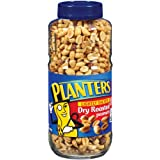 Planters Peanuts, Dry Roasted, Lightly Salted, 24-Ounce Jars (Pack of 3)