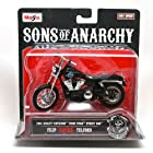 2006 Harley-Davidson FXDBI Dyna Street Bob * Filip Chibs Telford * Sons of Anarchy 2014 Maisto 1:18 Scale Motorcycle