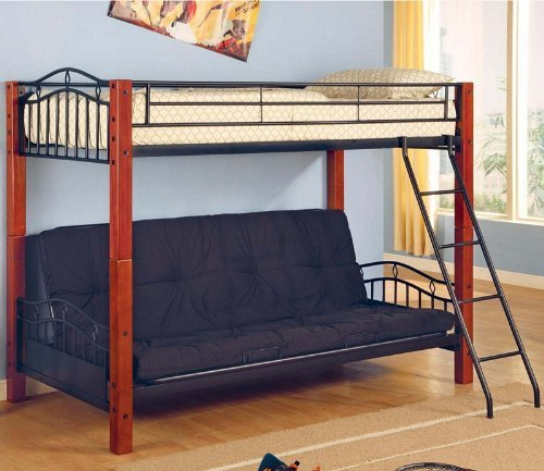 coaster-bunk-bed-with-futon-convertible-twin