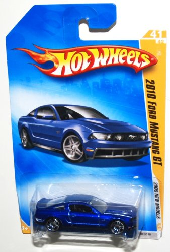2009 Hot Wheels New Models, 2010 Ford Mustang GT, 41 of 42, 041/190 (1 Each) - 1
