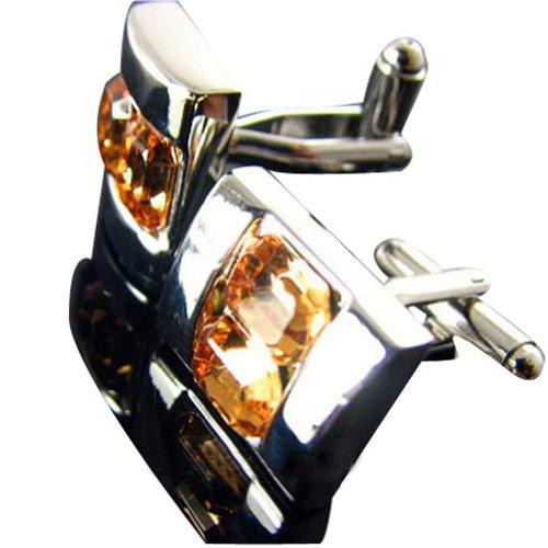 Worldfashion Top Grade Swaro-vski Crystal Diamond Cufflinks Hot Sale Mens Shirt Sleeve Buttons