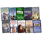 Jessica Stirling Jessica Stirling 10 Books Collection Pack Set RRP: £62.90 (Shadows on the Shore, Prized Possessions, The Wise Child, The Fields of Fortune, Creature Comforts, One True Love, Wives at War, The Workhouse Girl: J, Lantern For The Dark, Ble